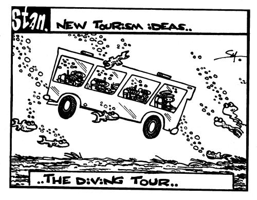 New tourism ideas