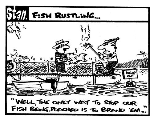 Fish rustling