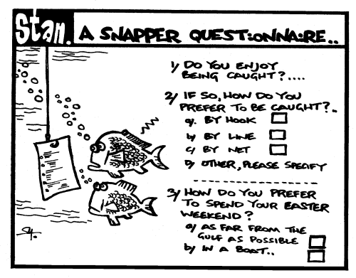 A snapper questionairre