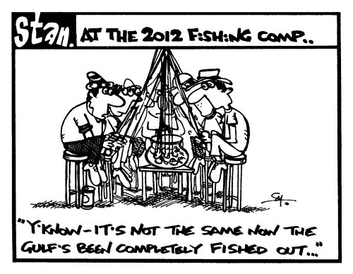 At the 2012 fishing competition