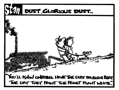 Dust glorious dust