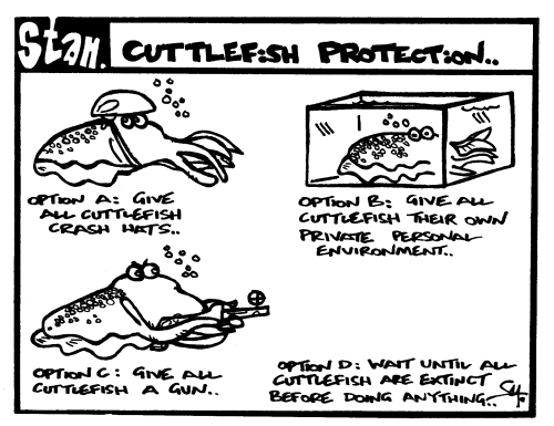 Cuttlefish protection