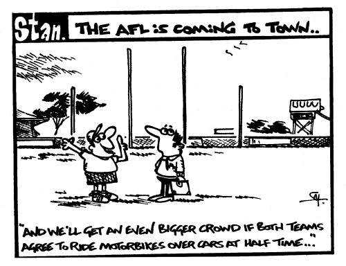 The AFL is coming to town