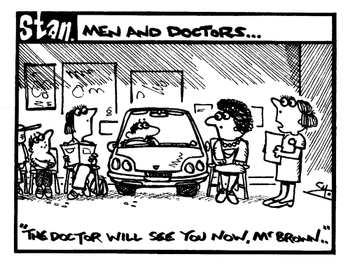 Men and doctors
