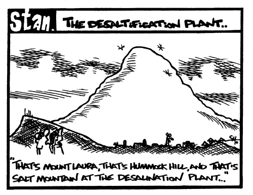 The desaltification plant