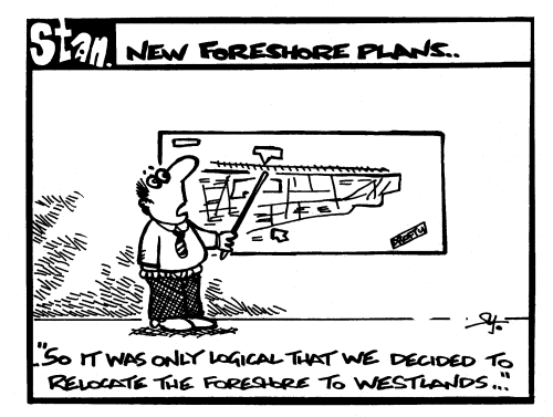 New foreshore plans