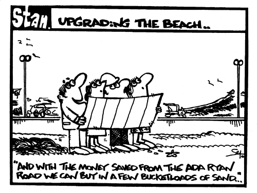 Upgrading the beach