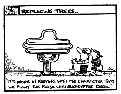 Replacing trees