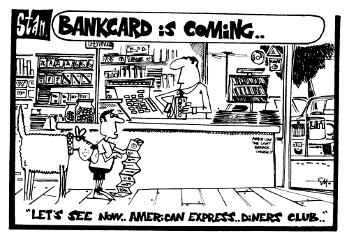Bankcard is coming ..