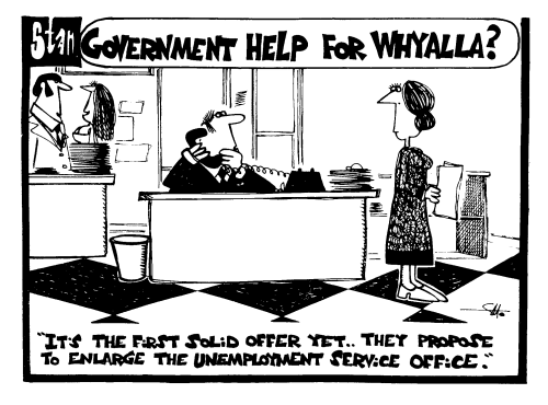 Government help for Whyalla?