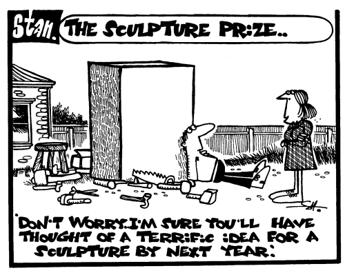 The sculpture prize