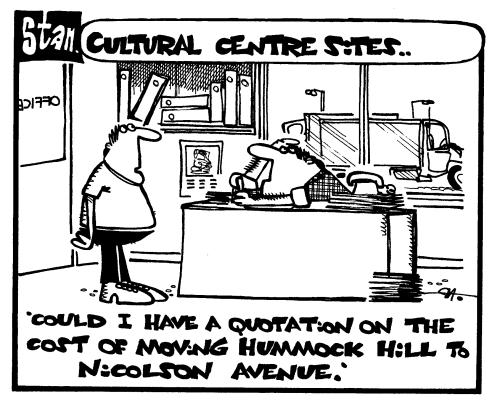 Cultural centre sites