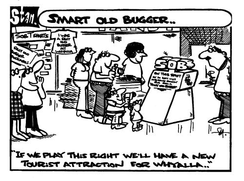Smart old bugger