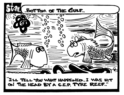 Bottom of the gulf