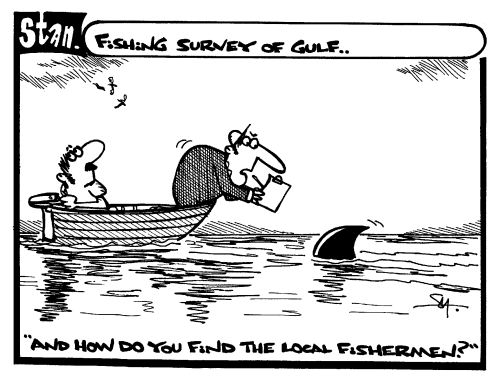 Fishing survey of gulf