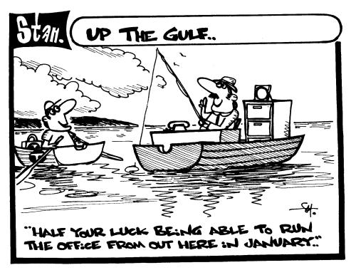 Up the gulf