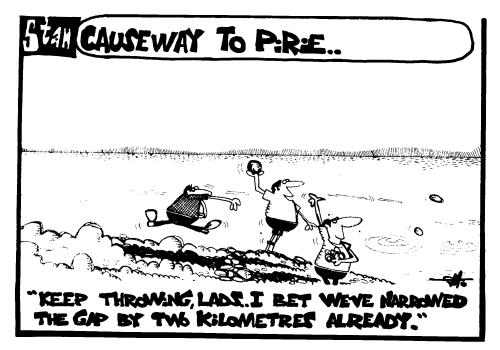 Causeway to Pirie