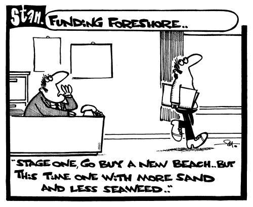 Funding foreshore