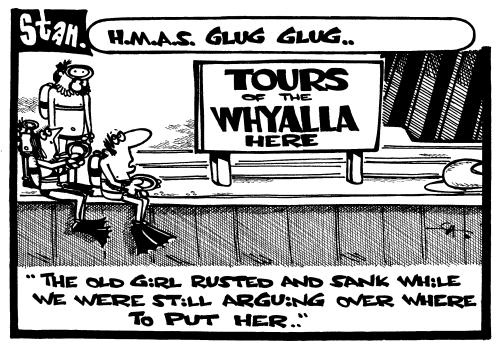 HMAS Glug Glug