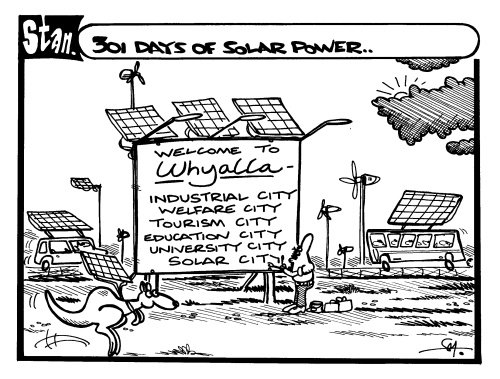 301 days of solar power