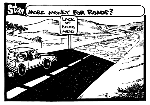 More money for roads?