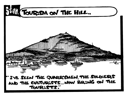 Tourism on the hill