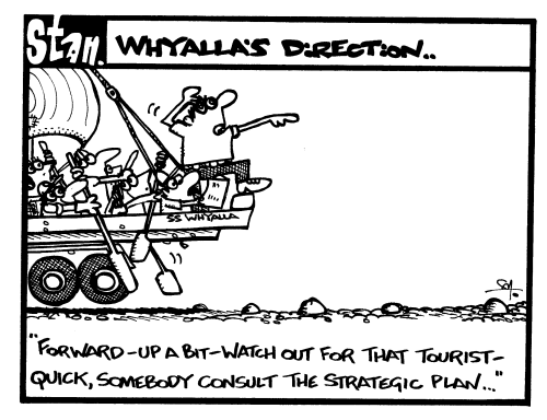 Whyalla's direction