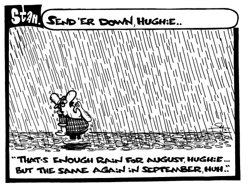 Send er down, Hughie