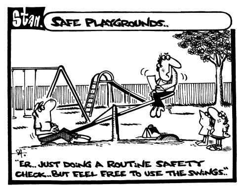 Safe playgrounds
